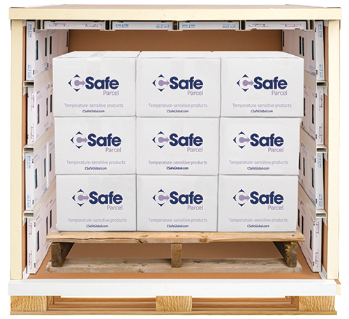 CSafe Pallet shipper - open full