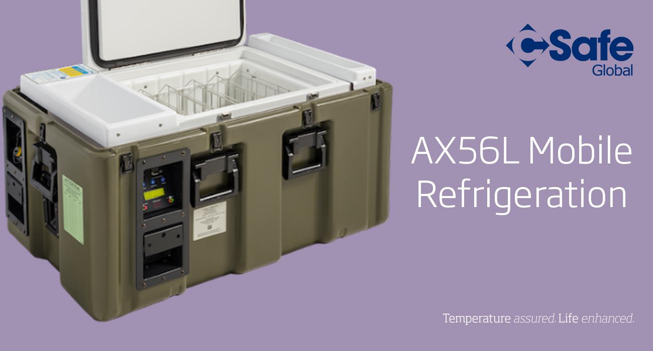 CSafe AX56L mobile refrigeration