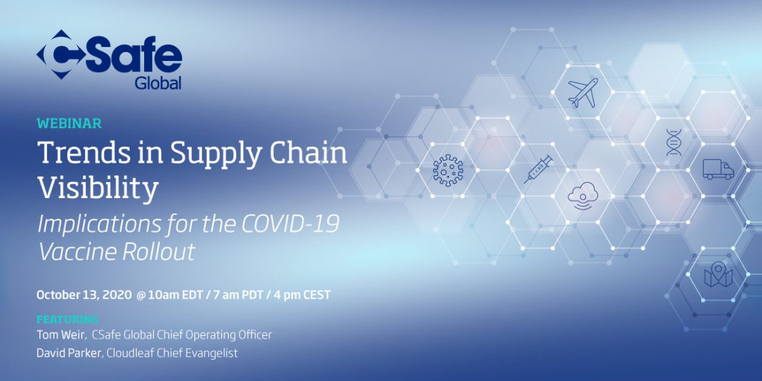 Webinar: Trends in Supply Chain Visibility & Implications for the COVID-19 Vaccine Rollout