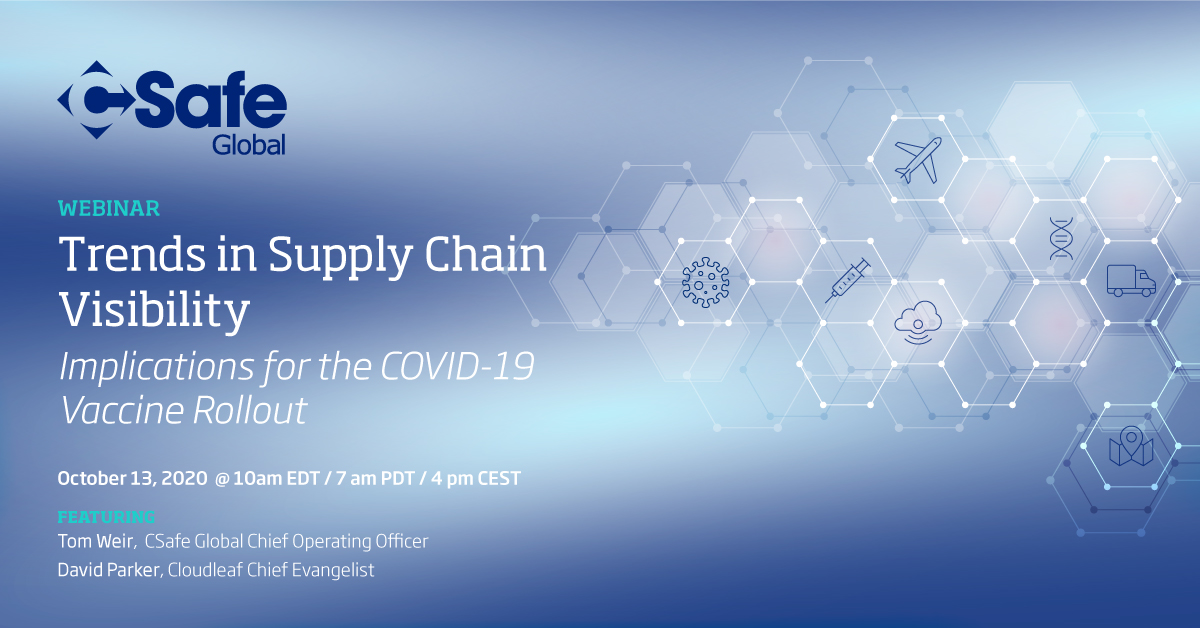 Trends in Supply Chain Visibility Webinar