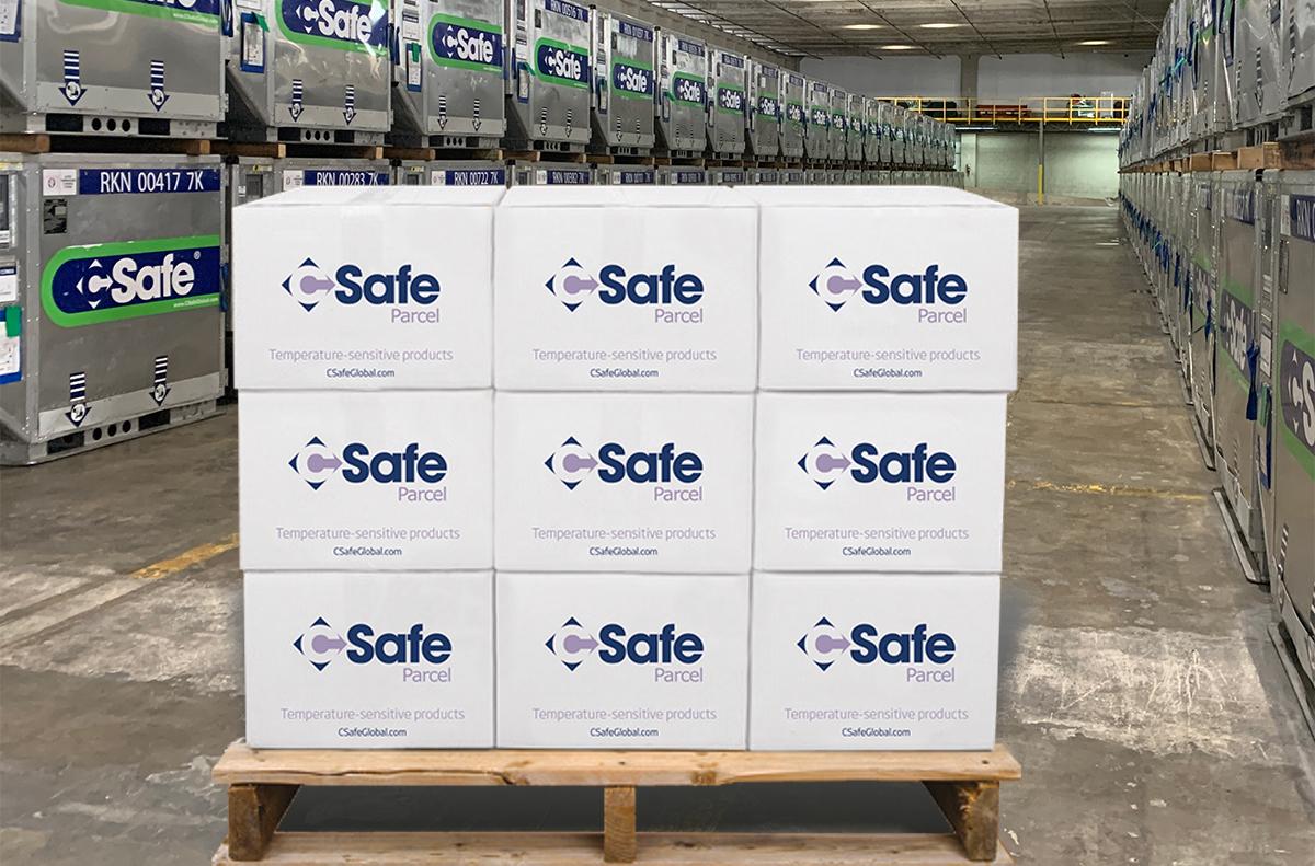 CSafe VIP Parcel boxes