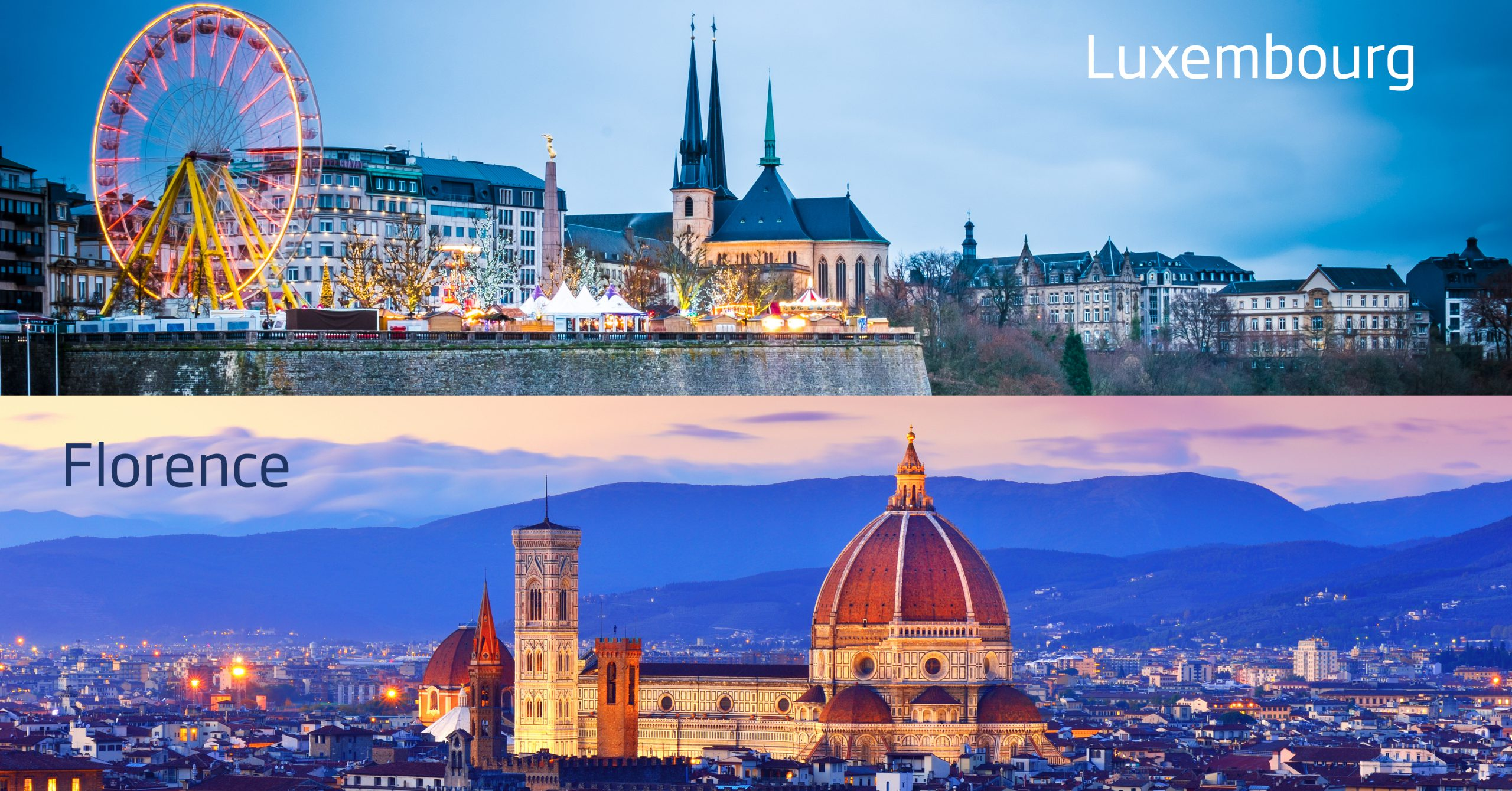 Luxembourg and Florence